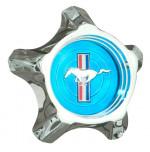 Blue Pony Cap Style Steel
