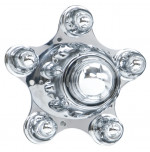 Chrome Spider Cap-Ford