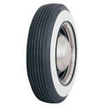 "E78-14 Coker Classic 2 3/8"" Whitewall Tire"