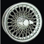 D493 15 x 6 Chrome Dayton Wire 72 Spoke
