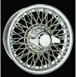 D458 13 x 4.5 Chrome Dayton Wire 60 Spoke