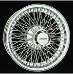 EB156 15 x 6 Chrome Dayton Wire 72 Spoke
