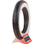 550-18 Firestone 3 1/4 Inch Whitewall Tire