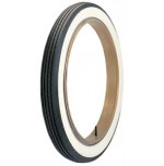 "34x4 1/2 - Lester 2 7/8"" Whitewall Tire"