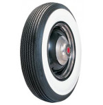 "600-16 Lester 3 7/8"" Whitewall Tire"