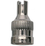 Nickel Prong Valve Cap
