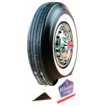 "640-13 BF Goodrich 2 1/4"" Whitewall Tire"