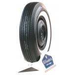 "725-13S BF Goodrich 2 1/4"" Whitewall Tire"