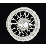 D450 15 x 4 Chrome Dayton Wire 48 Spoke
