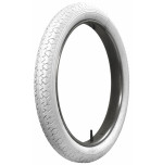 30x3 Firestone All White Tire