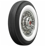 "670-15 Firestone 2 11/16"" Whitewall Tire"