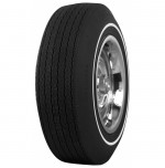 G70-14 Firestone Wide Oval White Pin Stripe Tire