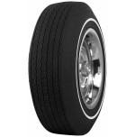 D70-14 Firestone Wide Oval White Pin Stripe Tire