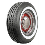 "215/75R15 American Classic 1.3"" White Wall Tire"