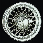 D461 14 x 5 Chrome Dayton Wire 60 Spoke