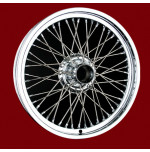 D287 19 x 2.5 Painted Wire 48 Spoke