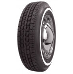"165R15 American Classic 3/4"" White Wall Tire"