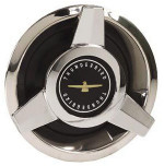 Thunderbird Wire Wheel Black Center Spinner Cap