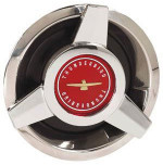 Thunderbird Wire Wheel Red Center Spinner Cap