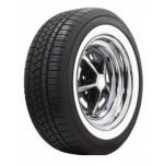 "235/55R17 American Classic 1 3/4"" White Wall Tire"
