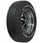 G70-15 Firestone Wide Oval Raised White Letter Tire
