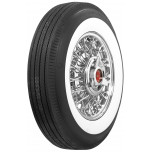 "670-15 US Royal 2 1/2"" Whitewall Tire"