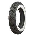 "500-16 Beck Tread 2"" Whitewall M/C Tire"