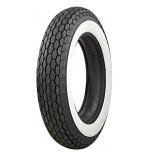 "500-16 Beck Tread 2"" Whitewall M/C Tire"