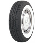 "165/80R13 BF Goodrich 2 1/4"" Whitewall Tire"