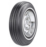 "775-15 Goodyear Power Cushion 5/8"" White Stripe Tire"