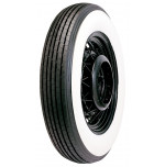"600/650-17 Lester 4"" Whitewall Tire"